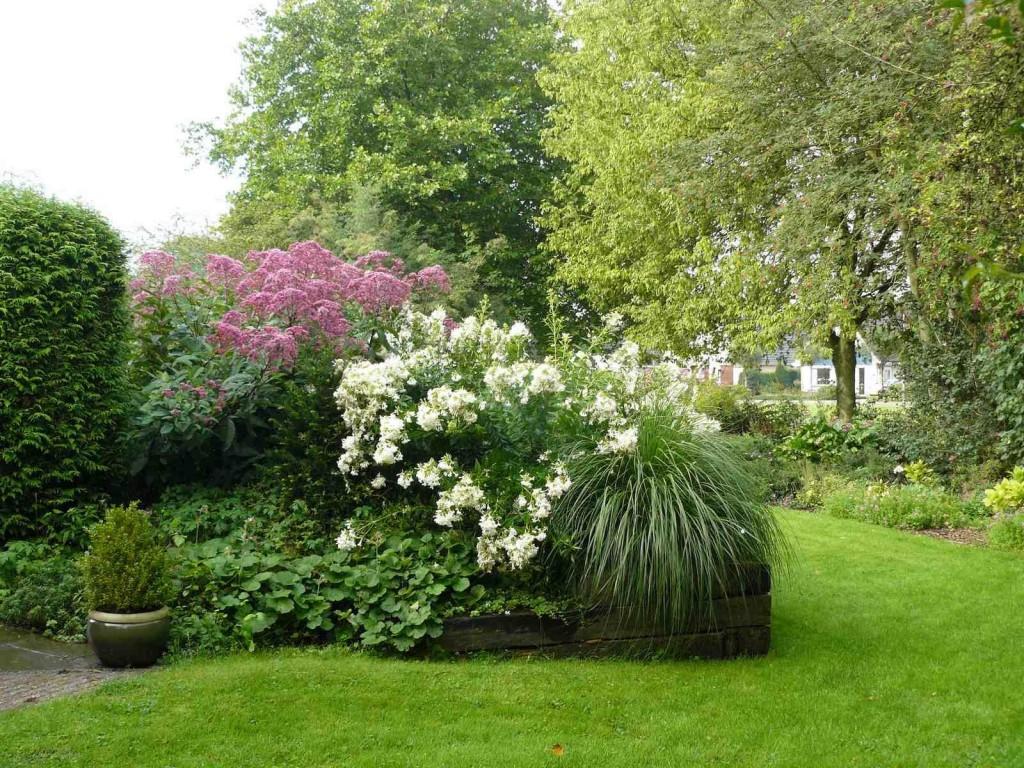 voorbeeld bloeiende tuin