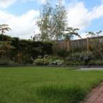 Tuinvoorbeeld strakke tuin
