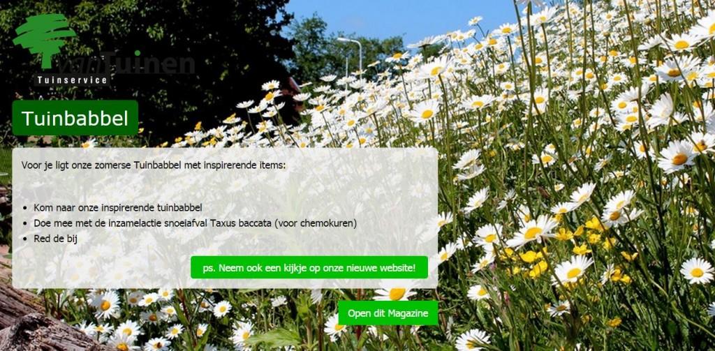 digitaal magazine voor tuininspiratie