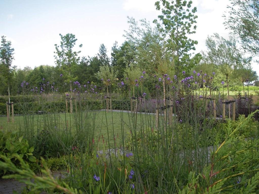 ook hedendaagse tuinontwerpers gaan uit van impressionisme in hun tuinontwerpen