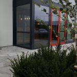 Papierberk symbool voor kracht bouwbedrijf